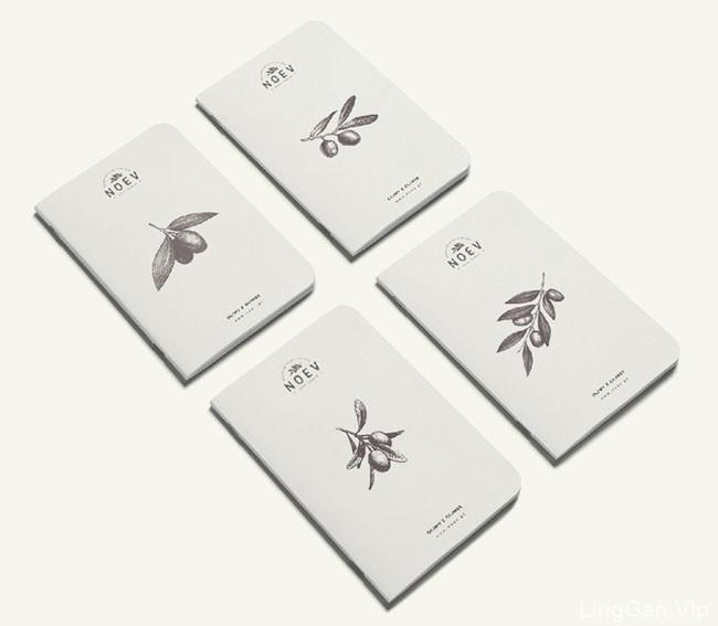 国外Noev橄榄油店品牌形象Vi设计