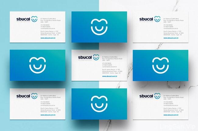 国外sbucal牙科诊所形象VI设计