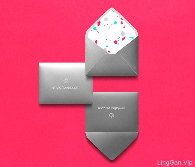 国外Enviaflores鲜花礼品品牌形象设计