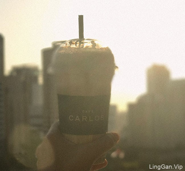 国外Cafe Carlos咖啡馆品牌基础vi形象设计