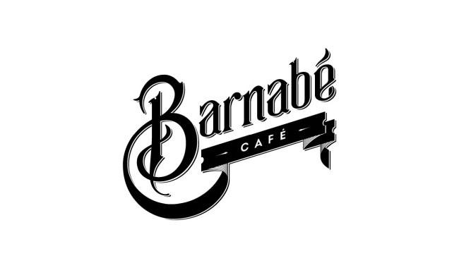 国外Barnabe咖啡馆VI形象设计作品