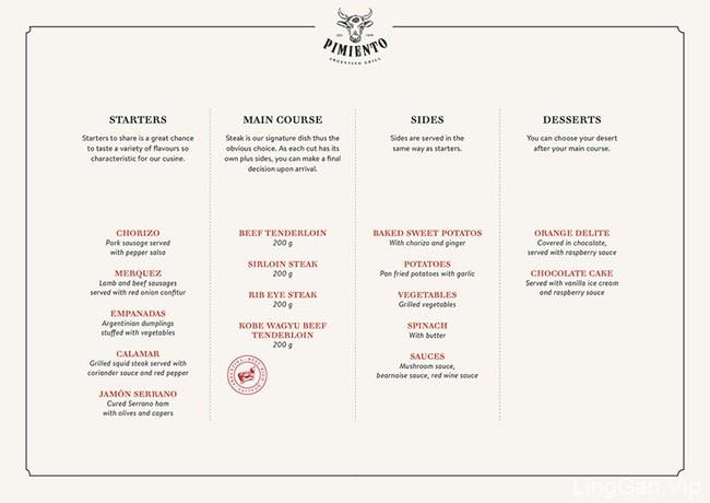 国外Pimiento烧烤餐厅品牌设计作品