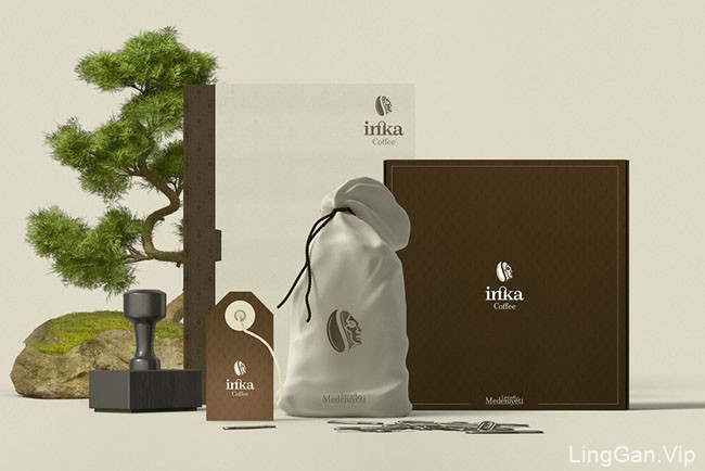 inka coffee咖啡品牌视觉形象设计作品