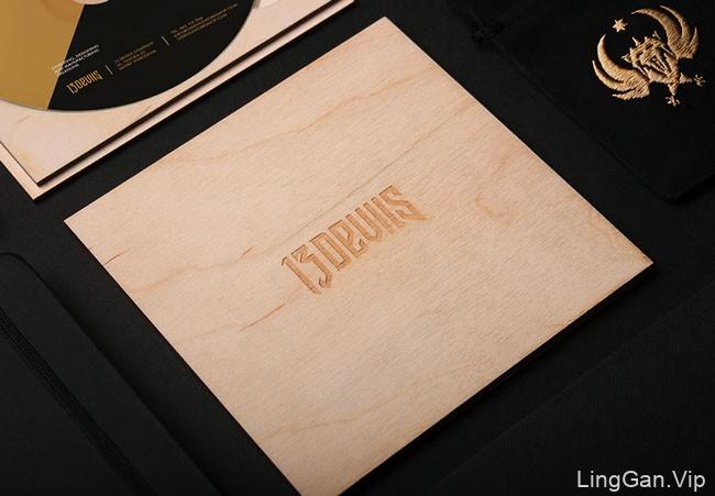 服务于娱乐与创意产业的13 Devils设计公司品牌形象设计