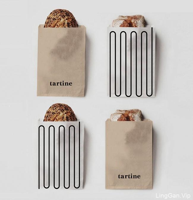 Tartine面包店品牌形象vi设计