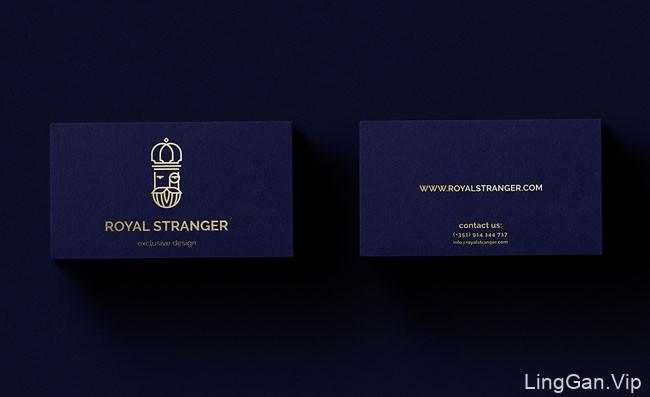 Royal Stranger家具设计品牌视觉形象设计