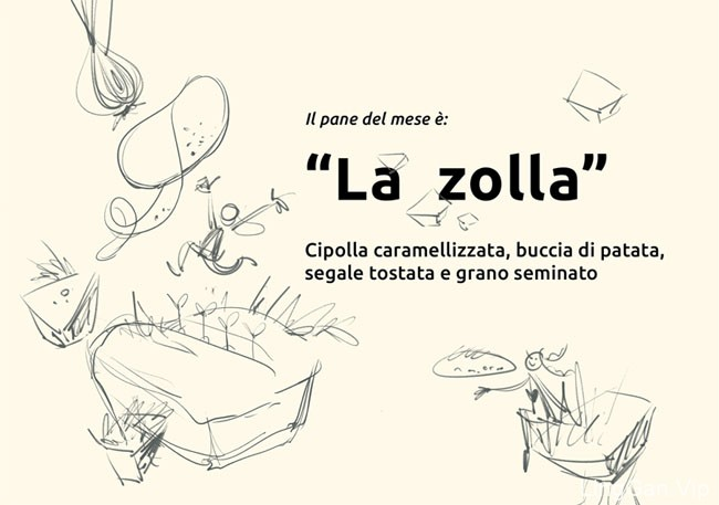 意大利Forno Calzolari面包店品牌形象VI设计