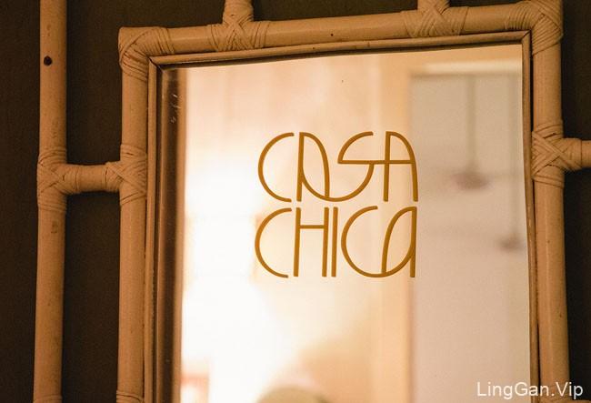 国外Casa Chica酒吧品牌形象设计
