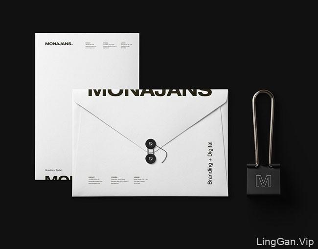 土耳其设计师MONAJANS工作室形象vi设计