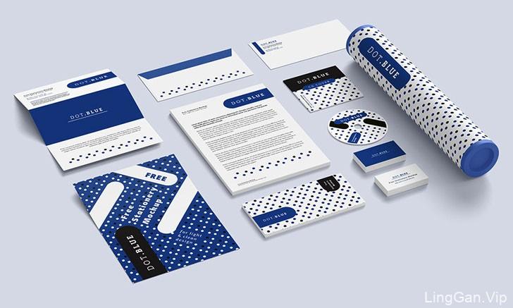 波兰Mockups Design VI基础部分模版设计