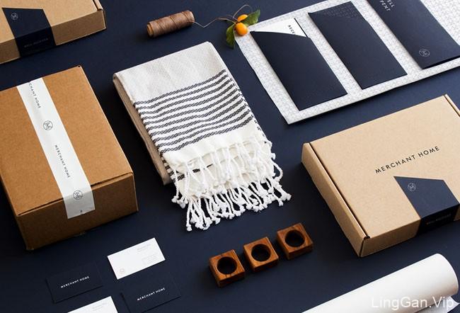 Merchant Home家居用品品牌形象设计