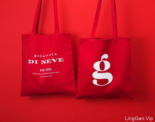 Gelateria Di Neve冰淇淋店品牌形象设计