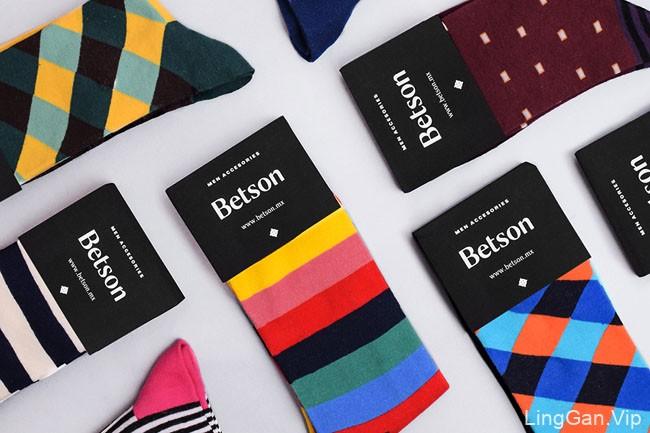 Betson男士配饰品牌视觉形象设计