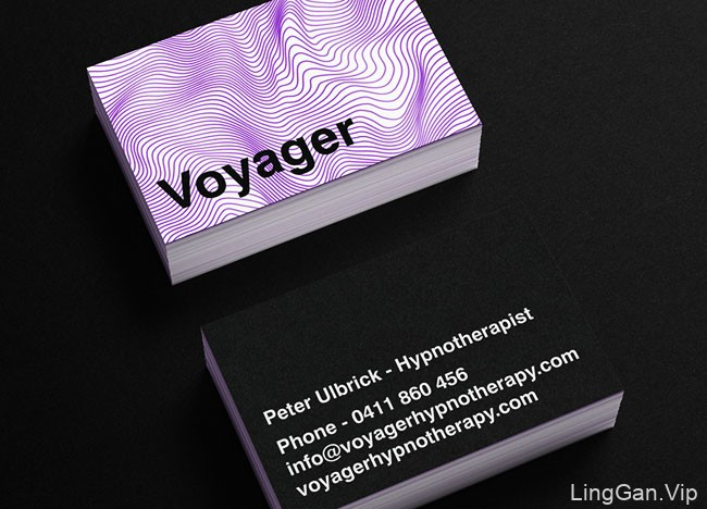 Voyager催眠治疗品牌形象设计
