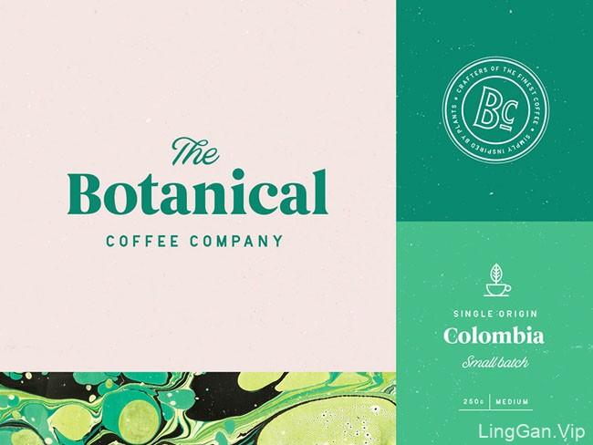 Botanical咖啡品牌形象设计