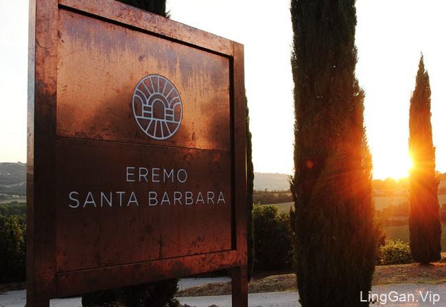 Eremo Santa Barbara乡村农舍品牌形象设计