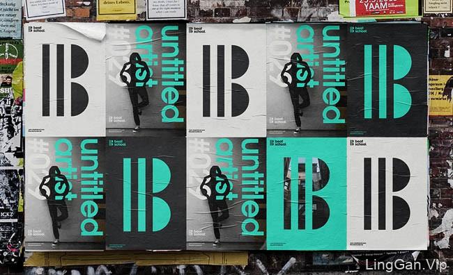Beat School音乐发行公司品牌形象设计