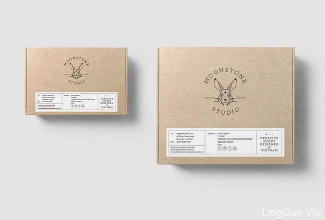 MoonStone创意工作室品牌形象设计