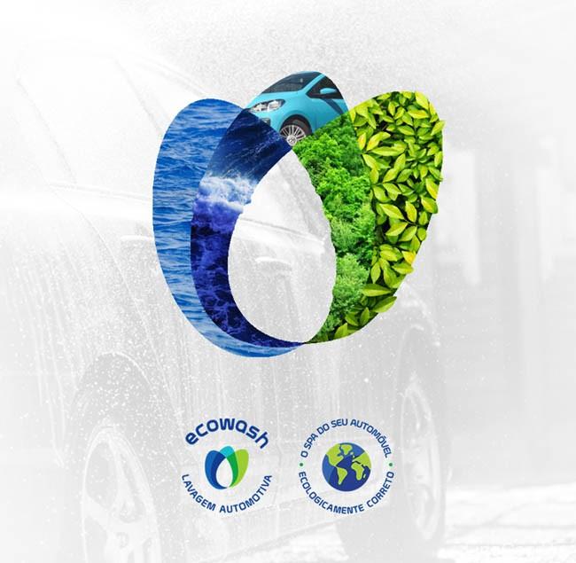 ECOWASH汽车清洗品牌形象设计