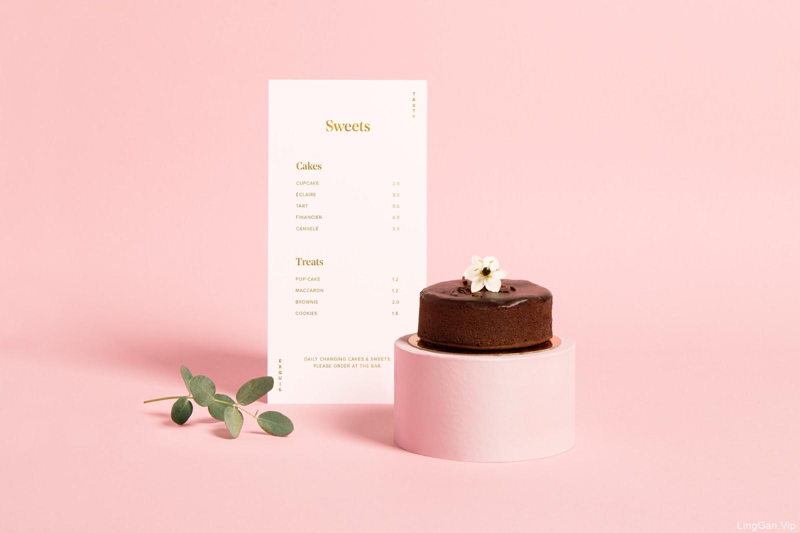 Avec Plaisir甜品店品牌形象设计