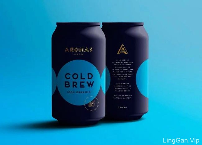 Aromas咖啡品牌形象设计与包装