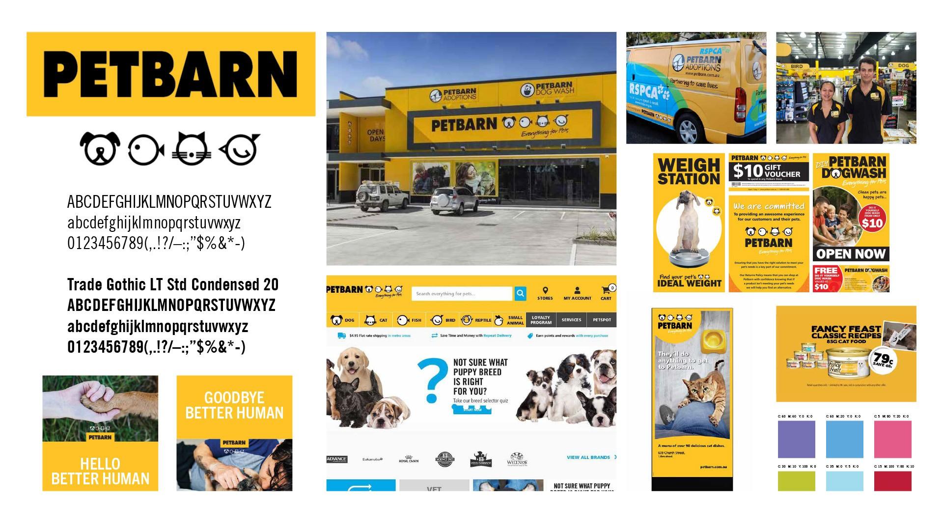 澳大利亚宠物机构Petbarn品牌新形象