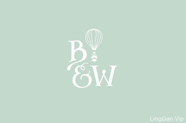 Balloon&Whisk烘焙食品店品牌形象设计