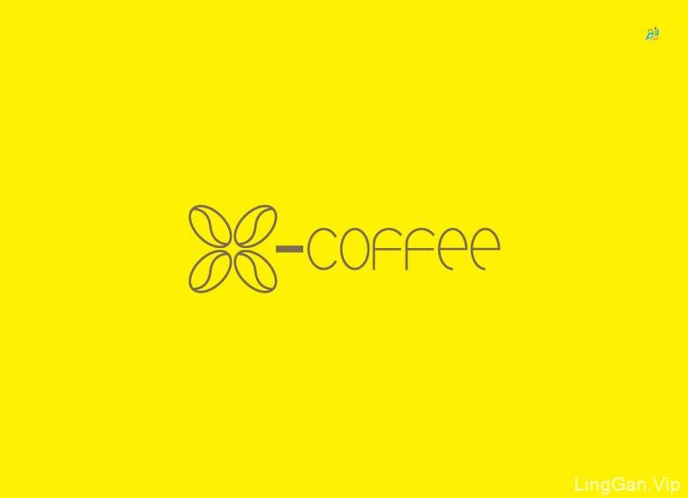 X-coffee新式咖啡厅品牌形象设计VI