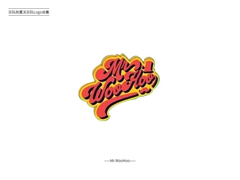 乐队的夏天!31款乐队组合Logo设计