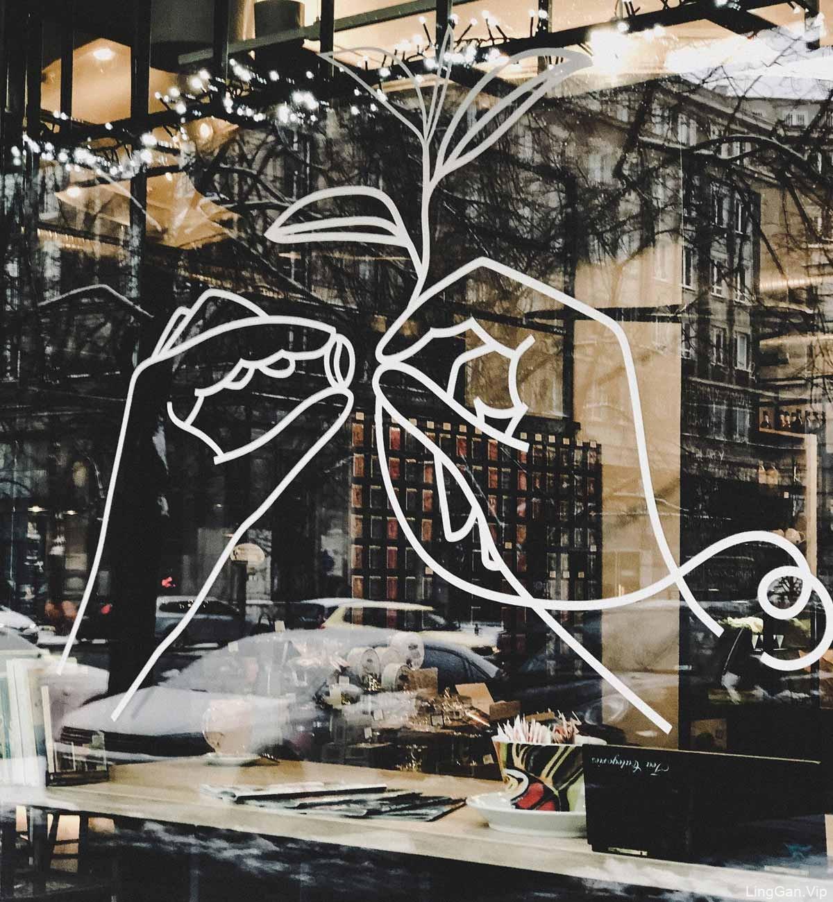 极简艺术风咖啡店IV设计
