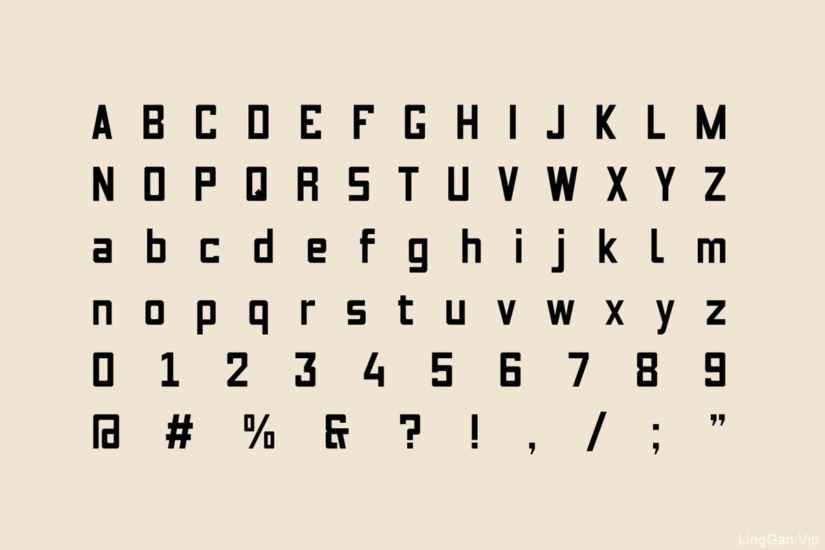 专属字体!啤酒品牌VI设计