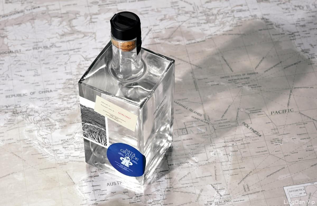 历史元素的现代感!酒类品牌VI设计