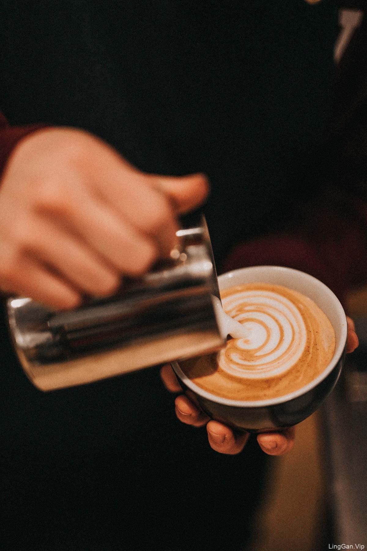 希腊风格!咖啡馆品牌VI设计