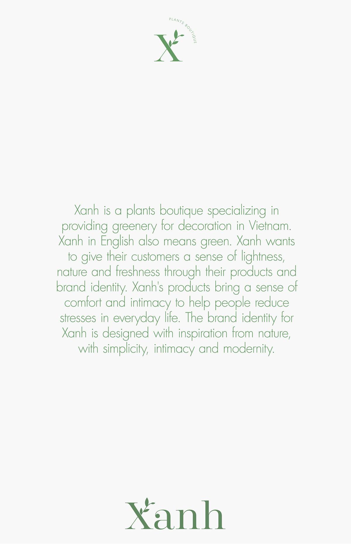 清新自然!绿植品牌VI设计