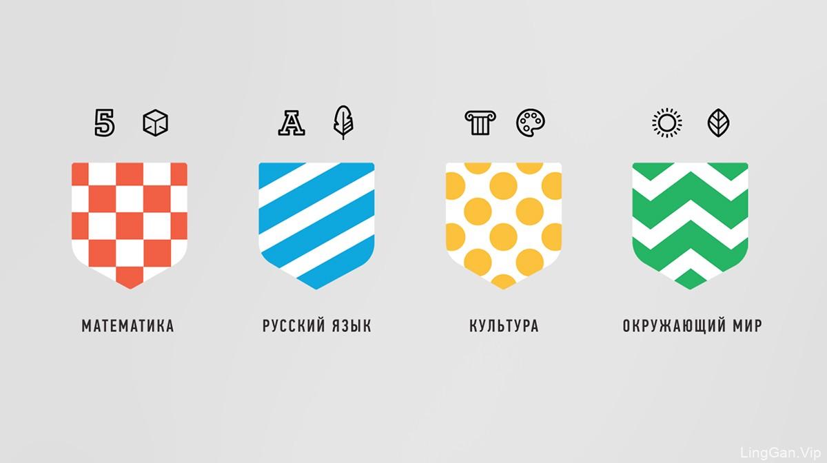 活泼色彩!儿童运动品牌VI设计