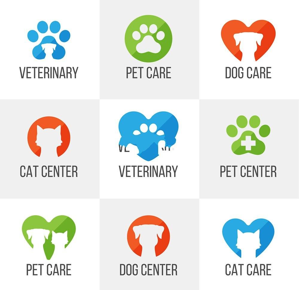 9个精美宠物医院logo设计欣赏#UI设计