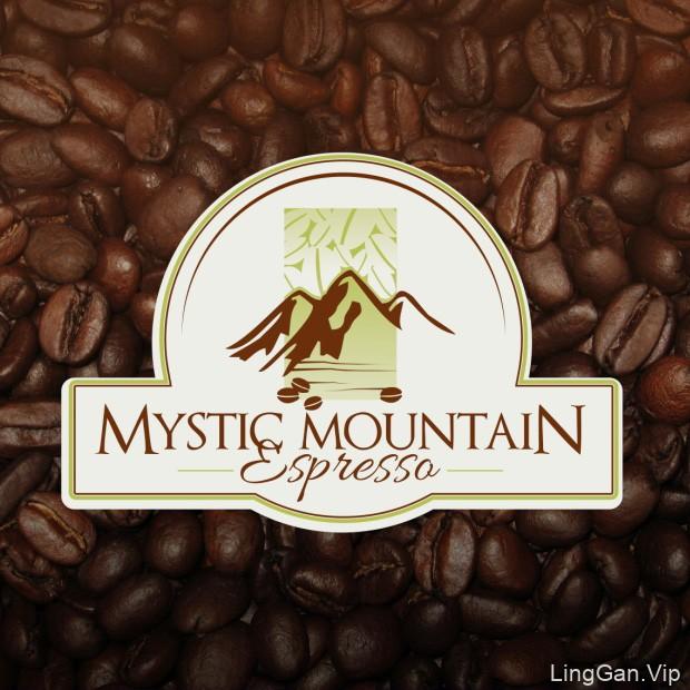 Mystic mountain-咖啡LOGO设计