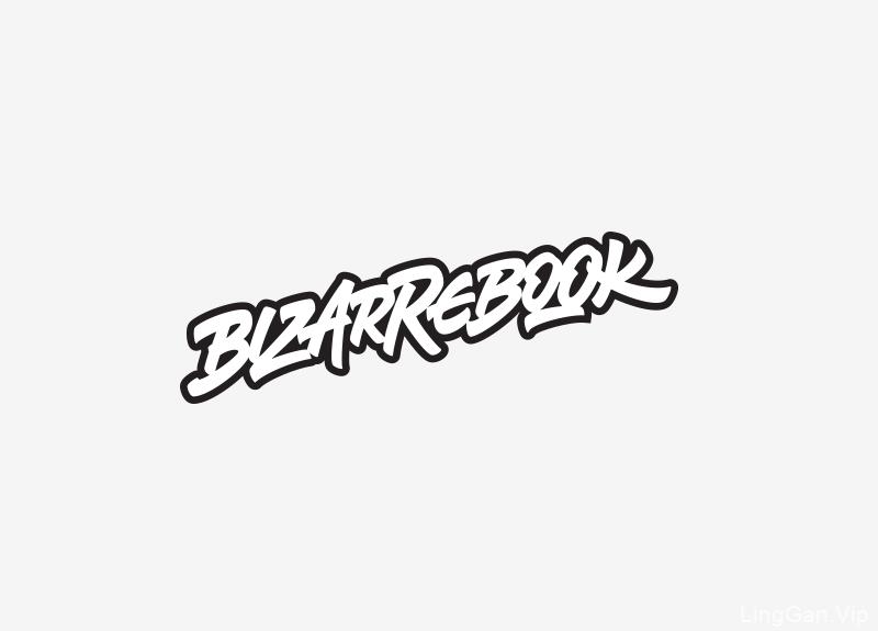 Bizzarebook 一个莫斯科漫画店的LOGO标志设计