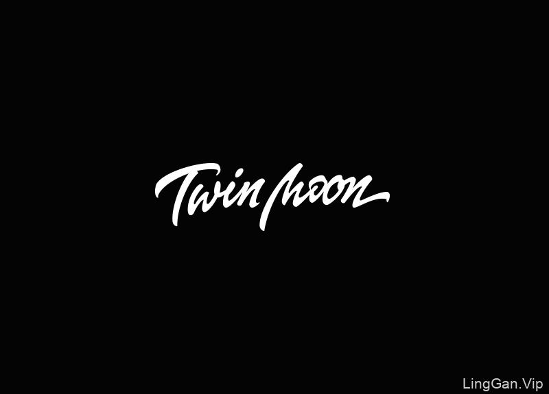 Twin Moon 文字LOGO设计欣赏