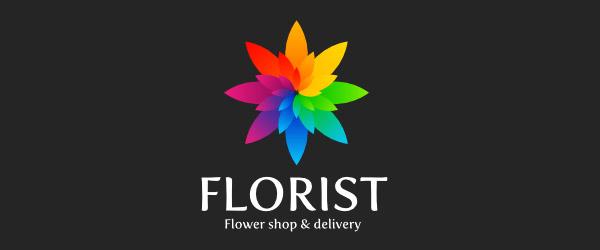18个漂亮的花卉元素LOGO标志设计欣赏