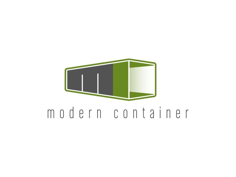modern container LOGO设计赏析