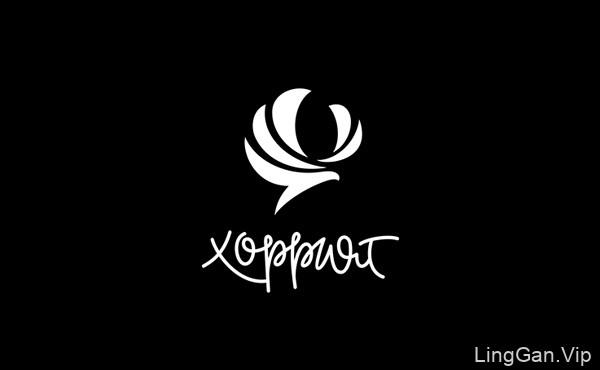 俄罗斯设计师SagitovArtur黑白系列logo标志设计