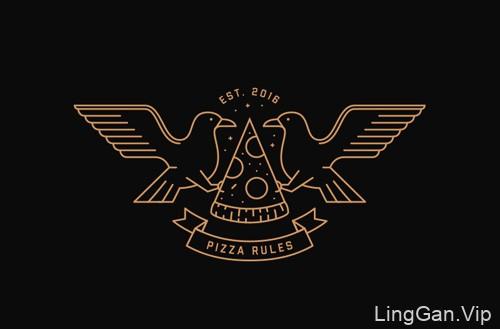 精美的线条logo标志设计合集24P