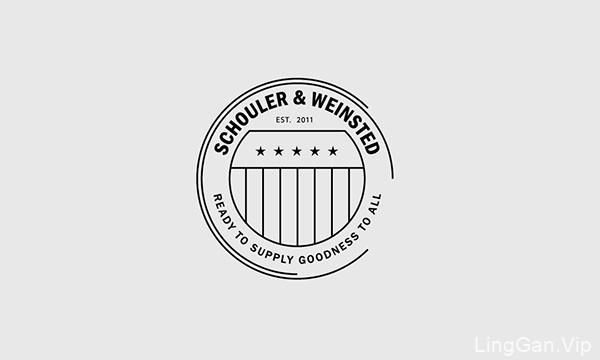 美国设计师Brandon Nickerson标志logo设计