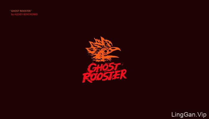 2017鸡年logo以公鸡为主题的LOGO创意设计(一)