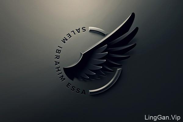 国外设计师PavelZertsikel立体质感标志设计(三)