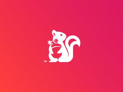 精选的18个松鼠元素的LOGO设计作品