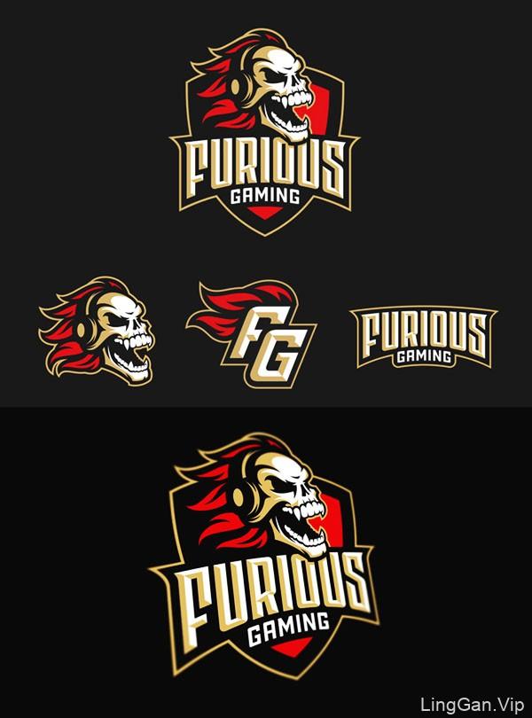 80款漂亮的电子竞技行业logo设计NO.2