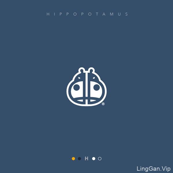 26个英文字母创意LOGO设计