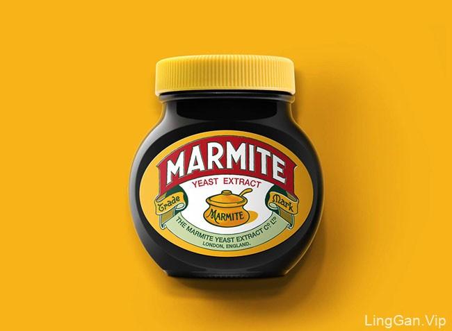 Marmite马麦酱系列包装设计